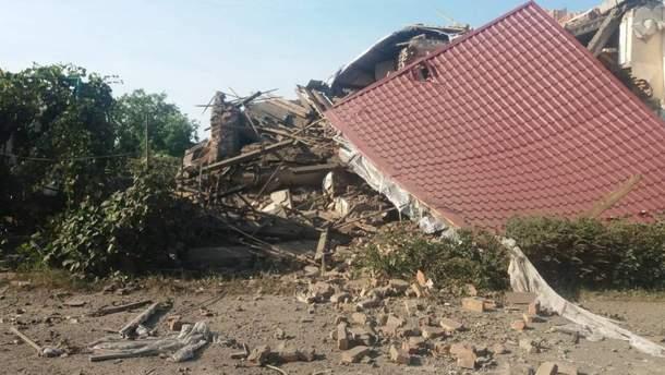 Мощный взрыв разрушил частный дом на Закарпатье