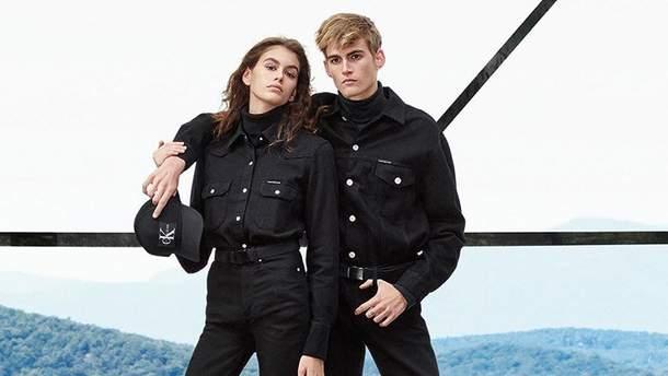 Кайя і Преслі Гербер для Calvin Klein Jeans