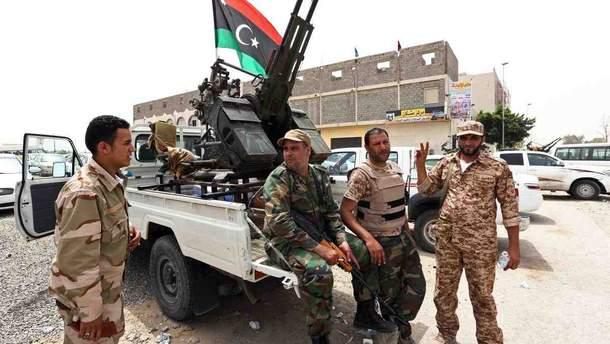 Конфлікт у Лівії