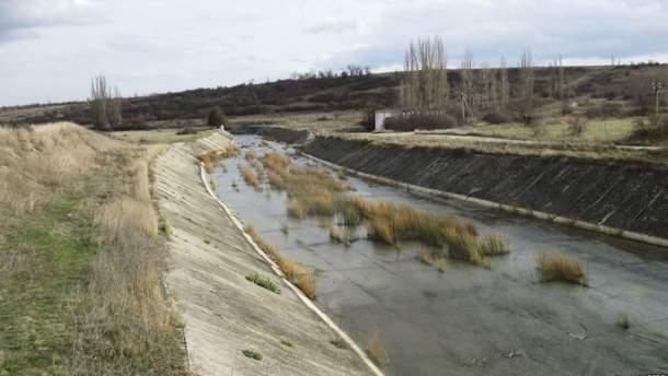 Окупанти використають екологічну катастрофу в Криму, аби отримати воду з Дніпра