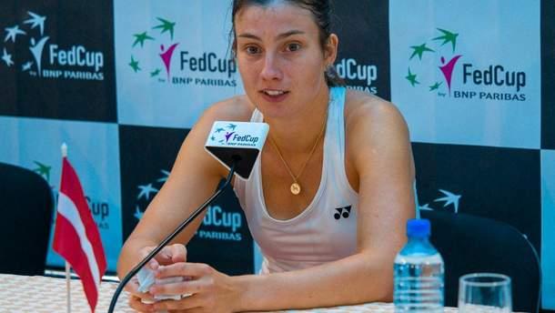 Анастасия Севастова прокомментировала победу над Элиной Свитолиной