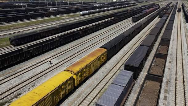 Перевозки железной руды
