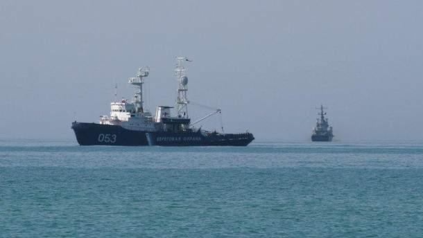 ФСБ РФ в оккупированном Крыму снова задержала украинское рыболовецкое судно в Черном море