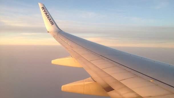 Ryanair здійснив перший рейс з України