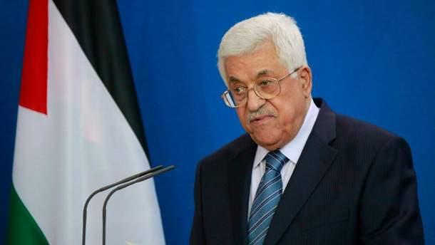 Палестинский лидер Махмуд Аббас