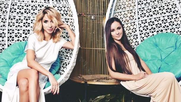 Світлана Лобода з сестрою Ксенією