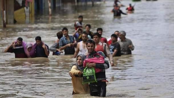 Потужні зливи в Індії спричинили лептоспіроз