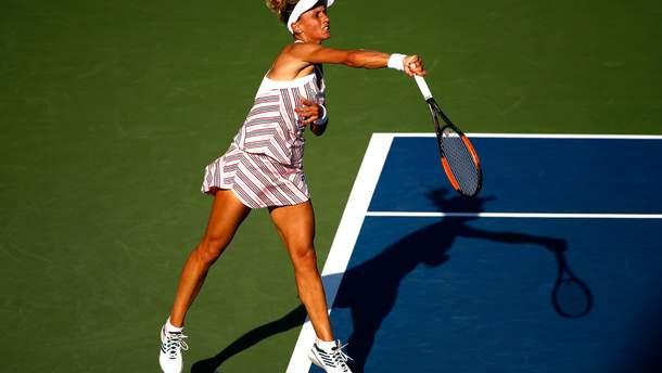 Леся Цуренко впервые в карьере пробилась в четвертьфинал US Open