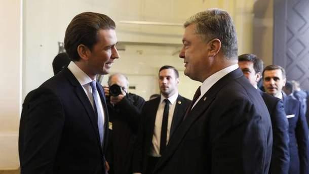 Одним лишь визитом Курца в Киев украино-австрийские отношения не исправить