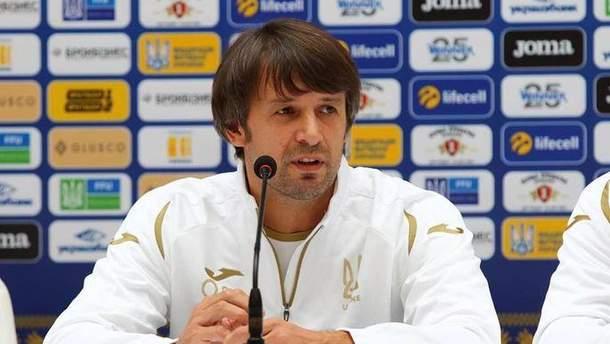 Александр Шовковский официально вошел в тренерский штаб сборной Украины