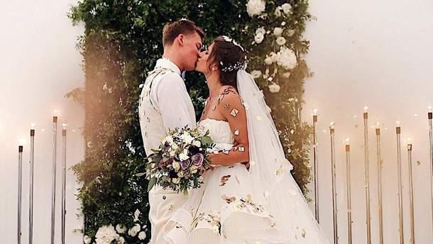Свадьба Михаила Романчука и Марины Бех