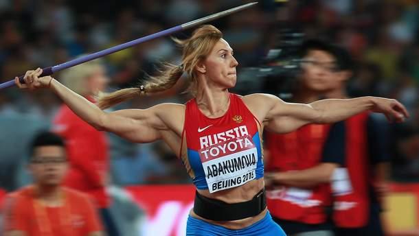 Марія Абакумова дискваліфікована через допінг