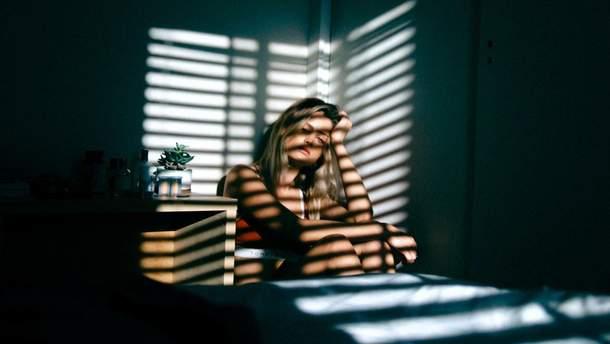 Який прихований симптом вказує на депресію
