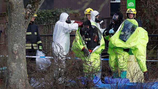 В России отреагировали на заявление Британии о подозреваемых в отравлении Скрипалей