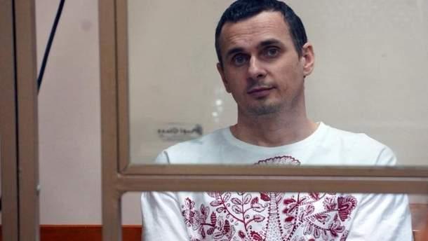 Новий лист Олега Сенцова