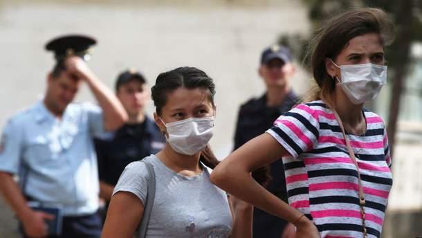 На Херсоншині постраждали діти через хімічні викиди у Криму