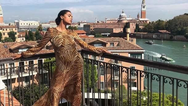 Тина Кунаки в Венеции