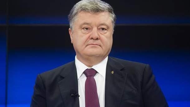 """Порошенко прокомментировал причастность России к отравлению """"Новичком"""""""