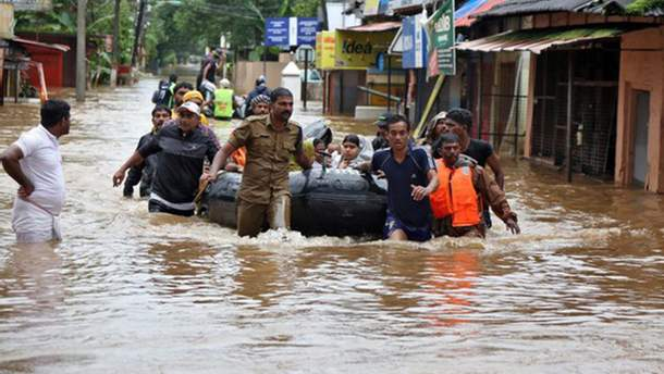 Українцям радять не їхати в Індію через сильні повені