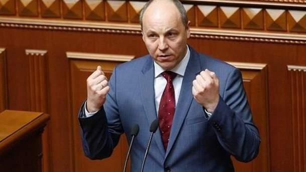 Парубий подозревает химическую атаку в Крыму и просит мир проверить действия РФ