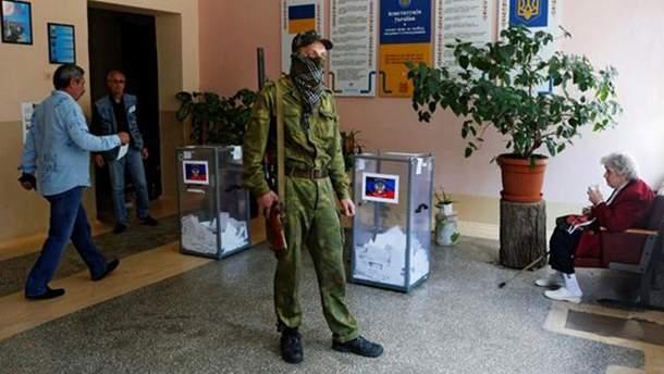 """На оккупированном Донбассе осенью могут пройти """"выборы"""""""