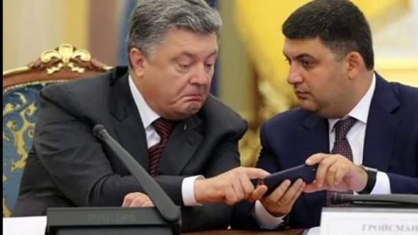 Порошенко активно читает Facebook