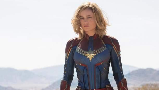 """Капітан Марвел"": перші кадри фільму"