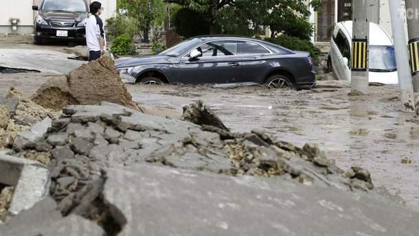 Наслідки землетрусу в Саппаро