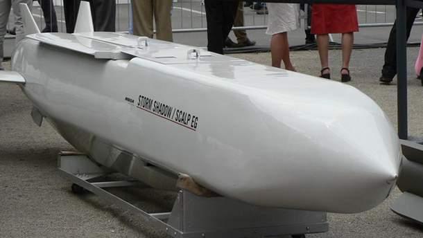 Французька ракета SCALP з американськими компонентами
