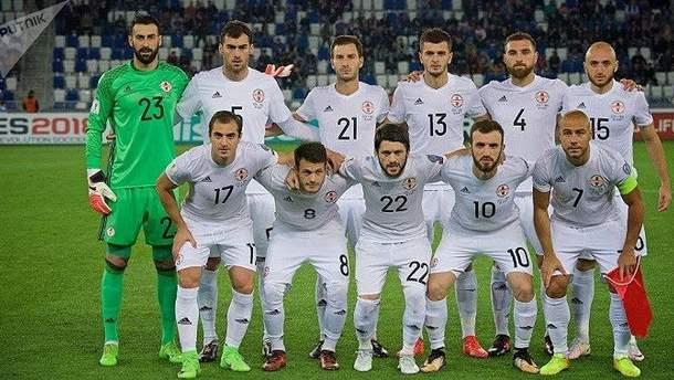 Сборная Грузии – победитель первого в истории матча Лиги наций