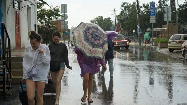 Негода у Ялті 6 вересня