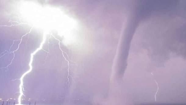 У Феодосії зафіксували торнадо