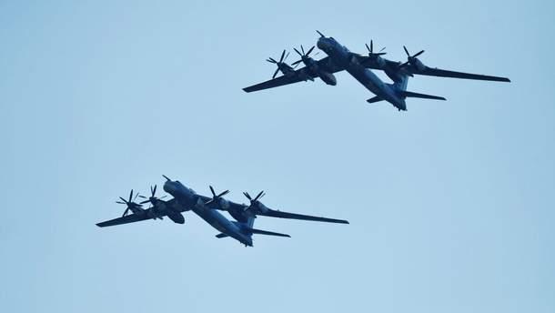 Біля Аляски перехопили два російських ТУ-95