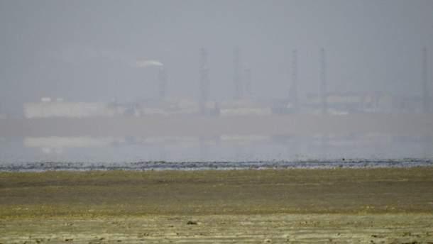 Химический выброс в Армянске