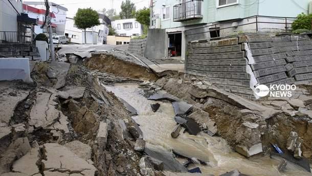 Смертельний землетрус у Японії