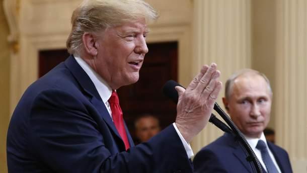 """Трамп считает встречу с Путиным """"одной из лучших его встреч"""""""