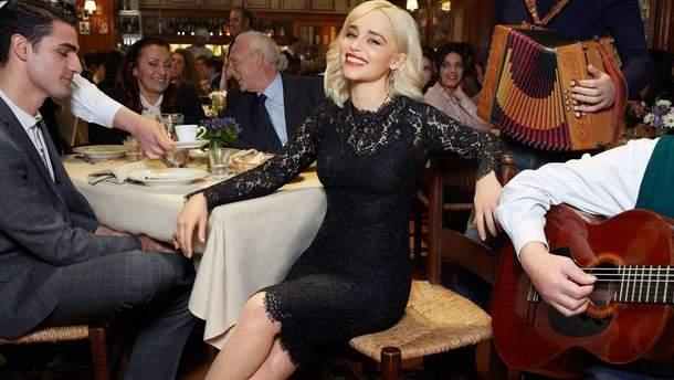Эмилия Кларк для Dolce & Gabbana