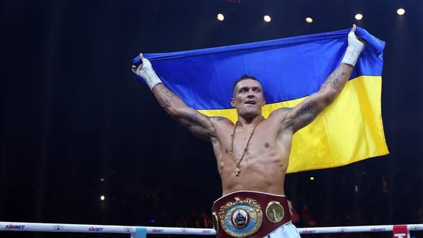 Александр Усик подписал соглашение с промоутерской компанией Matchroom Boxing