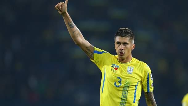 Евгений Хачериди покинул расположение сборной Украины