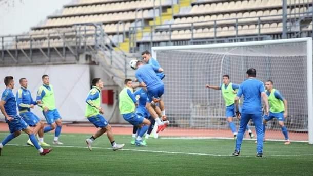 Сборная Украины U-21 победила Латвию U-21