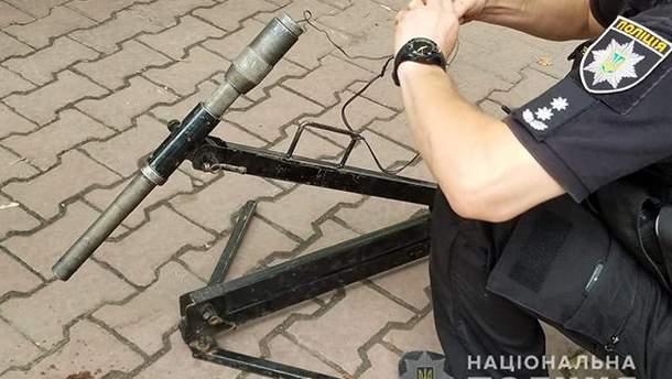 В Одессе под авто заложили взрывчатку