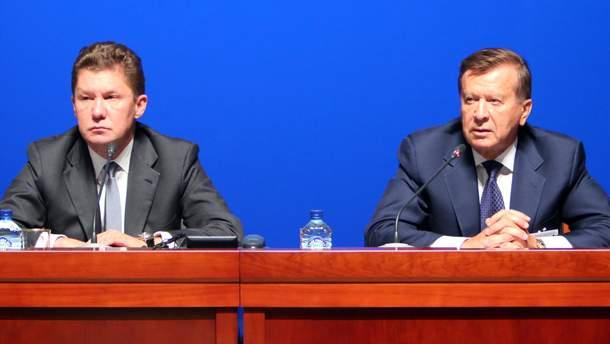 """Керівники """"Газпрому"""" Олексій Міллер і Сергій Зубков потрапили у ДТП"""