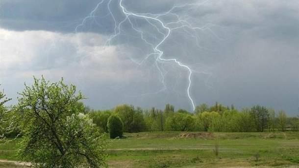 8 сентября часть Украины накроет непогода