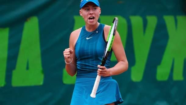 Дарья Лопатецкая вышла в полуфинал юниорского US Open-2018