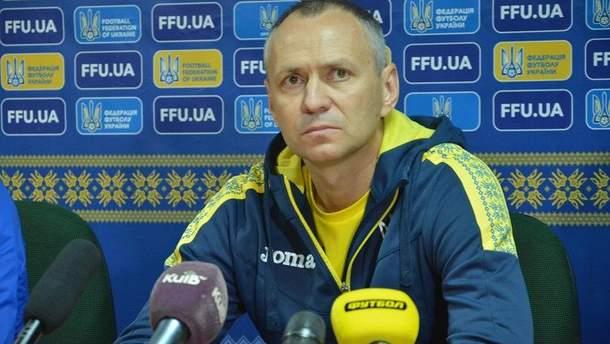 Олександр Головко розповів про втрати у збірній Україїни