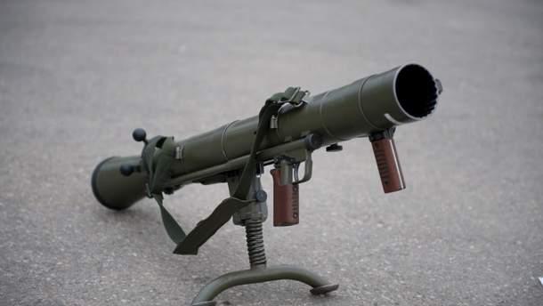 На Луганщині поліцейські вилучили у жінки гранатомет
