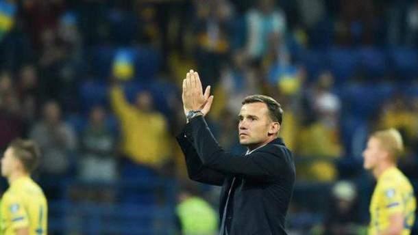О командах говорят их результаты, – главный тренер сборной Украины о матче со Словакией