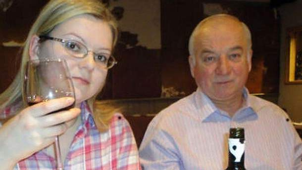 Сергей Скрипаль с дочкой