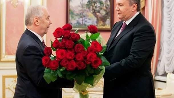 Рибак та Янукович