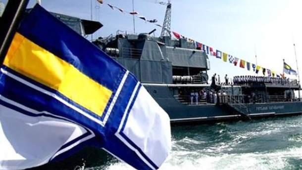 Україна перекидає в Азовське море військові кораблі